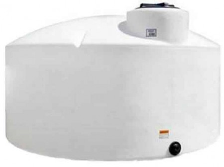 1100 Gallon Plastic Vertical Storage Tank