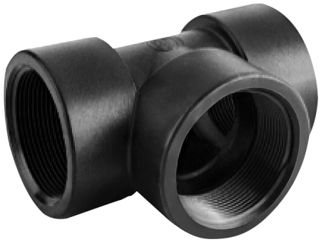 """Pipe Tee Fitting - 1 1/2"""" FPT"""