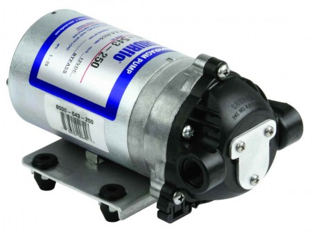 "12 Volt Electric Pump with 3/8"" NPT Inlet x 3/8"" NPT Outlet"
