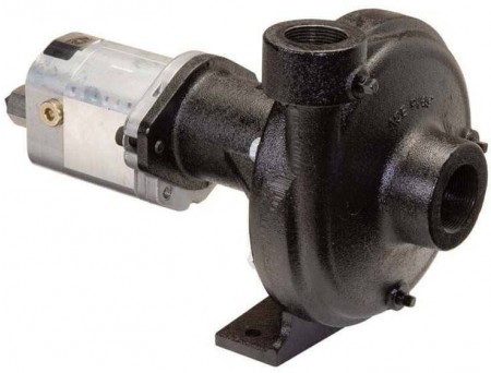 """Ace 650 Hydraulic Driven E-coated Cast Iron Pump with 1-1/2"""" Suction x 1-1/4"""" Discharge"""