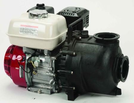 "6.5 HP Honda Gas Engine Poly Pump with 3"" NPT"