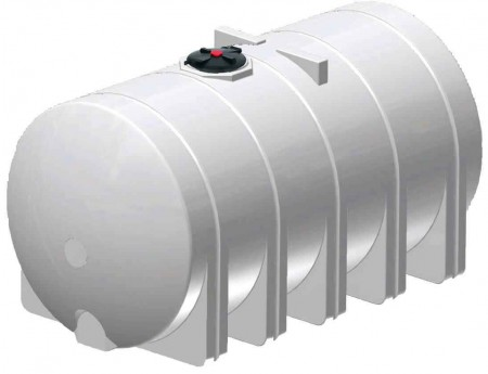 6025 Gallon Horizontal Leg Tank with Bands