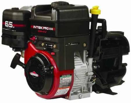 "6.5 HP Briggs & Stratton Gas Engine Poly Pump with 2"" NPT"
