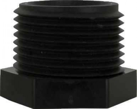 """Pipe Hex Plug Fitting - 1"""" MPT"""