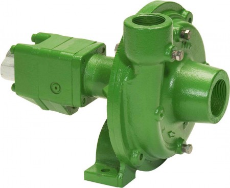 "Ace 206 Hydraulic Driven Cast Iron Pump with 1-1/2"" Suction x 1-1/4"" Discharge"