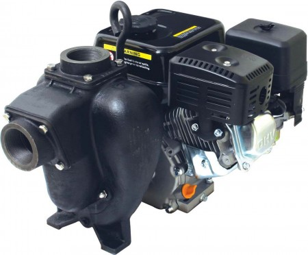 "6.5 HP PowerPro Gas Cast Iron Transfer Pump with 2"" NPT Inlet x 2"" NPT Outlet"