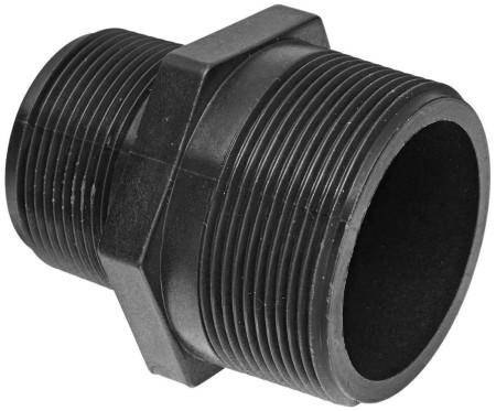 "Pipe Reducer Nipple Fitting - 1 1/4"" MPT x 1"" MPT"