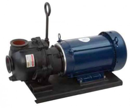 "10 HP Three Phase Electric Engine Cast Iron Pump with 3"" NPT"