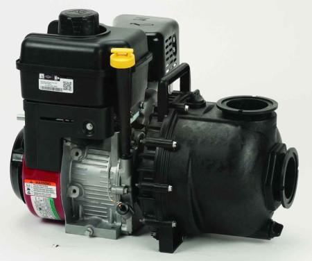 "11 HP Briggs & Stratton Gas Engine Poly Pump with 3"" NPT"