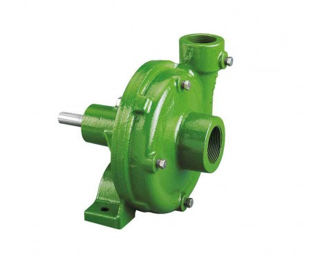 """Belt Driven Cast Iron Pump with 1-1/2"""" Suction x 1-1/4"""" Discharge"""