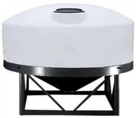 1320 Gallon Cone Bottom Tank w/ Stand