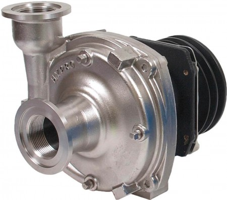 """Gear Driven Stainless Steel Centrifugal Pump with 1-1/2"""" NPT Inlet x 1-1/4"""" NPT Outlet"""