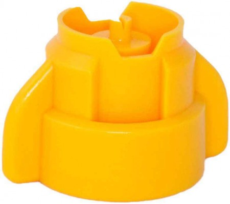 SprayMax Yellow Polyacetal Extended Range Spray Nozzle