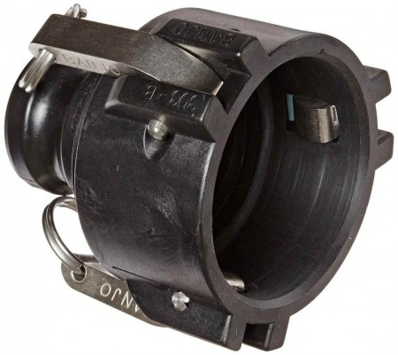 """Cam Action Coupler Fitting - 3"""" Female Coupler x 2"""" Male Adapter"""