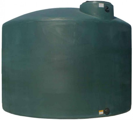 2100 Gallon Plastic Water Storage Tank