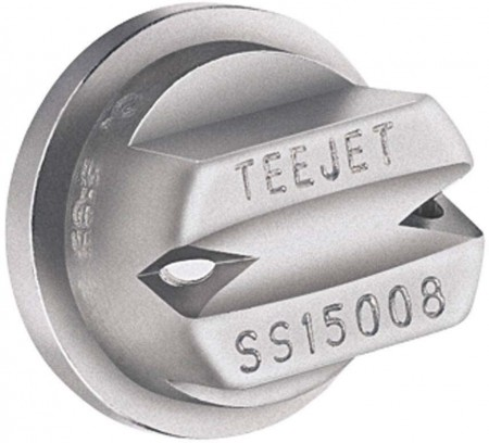 TeeJet Stainless Steel Double Outlet Flat Spray Tip Nozzle