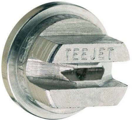 TeeJet Hardened Stainless Steel VisiFlo Flat Spray Tip Nozzle