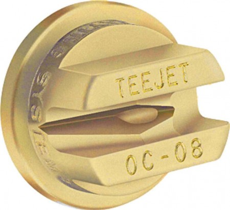 TeeJet Brass Off-Center Flat Spray Tip Nozzle
