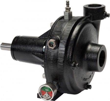 """Belt Driven E-coated Cast Iron Pump with 1-1/2"""" Suction x 1-1/4"""" Discharge"""