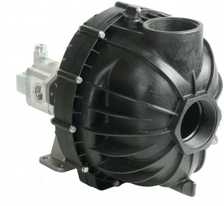 """Hydraulic Poly Transfer Pump with 3"""" NPT Inlet x 3"""" NPT Outlet"""