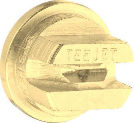 TeeJet Brass Even Flat Spray Tip Nozzle