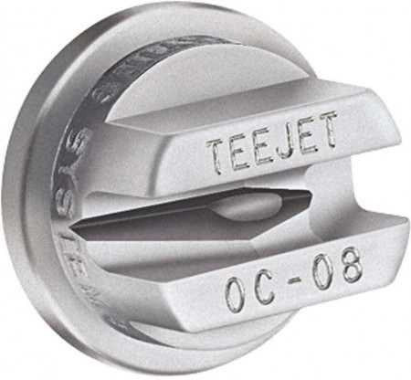 TeeJet Stainless Steel Off-Center Flat Spray Tip Nozzle