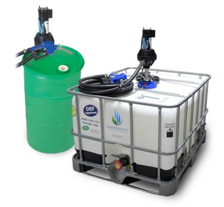 DEF Top Unload IBC Tote Dura-Pump Kit