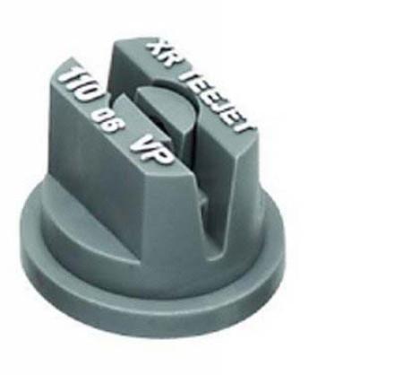 XR TeeJet Grey Acetal Polymer Extended Range Flat Spray Tip Nozzle