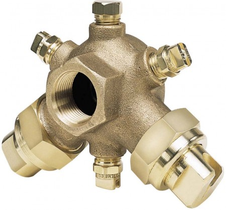 BoomJet Brass Boomless Extra-Wide Flat Spray Projection Nozzle