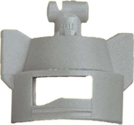 Turbo TeeJet Duo Grey Acetal Polymer Dual Polymer Flat Fan Spray Tip Nozzle