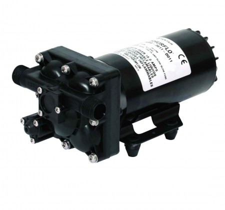 """12 Volt Electric Pump with 1/2"""" NPTF Inlet x 1/2"""" NPTF Outlet"""