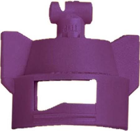 Turbo TeeJet Duo Lilac Acetal Polymer Dual Polymer Flat Fan Spray Tip Nozzle