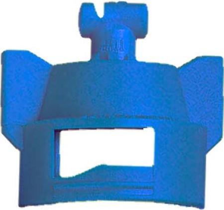 Turbo TeeJet Duo Blue Acetal Polymer Dual Polymer Flat Fan Spray Tip Nozzle