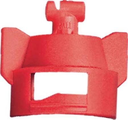 Turbo TeeJet Duo Red Acetal Polymer Dual Polymer Flat Fan Spray Tip Nozzle