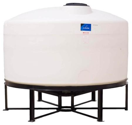 1300 Gallon Cone Bottom Tank w/ Stand