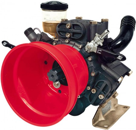 """Diaphragm Pump with 1-1/4"""" HB Inlet x 3/4"""" HB Outlet"""
