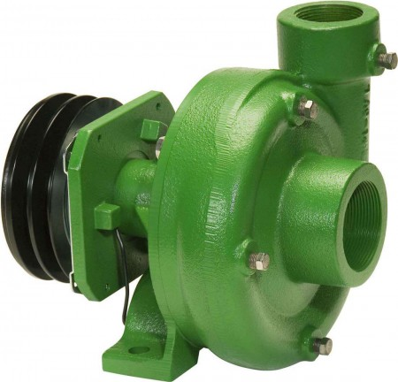 """Belt Driven Cast Iron Pump with 2"""" Suction x 1-1/2"""" Discharge"""