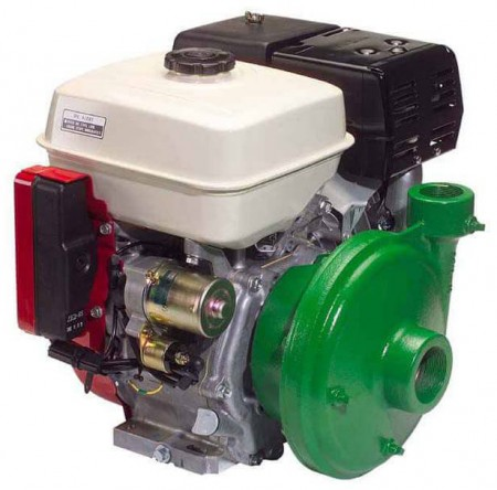 """7.9 HP Honda Gas Engine Poly Pump with 2"""" Suction x 1-1/2"""" Discharge"""