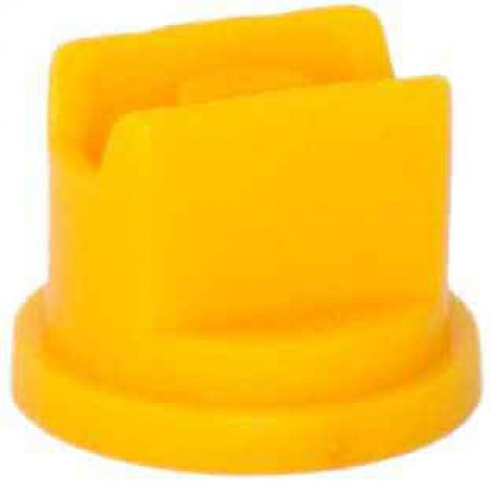 SprayMax Yellow Polyacetal Extended Range Spray Tip Nozzle