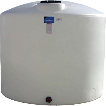 1650 Gallon Plastic Vertical Storage Tank