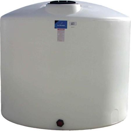 3400 Gallon Plastic Vertical Storage Tank