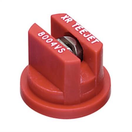XR TeeJet Red Acetal-Stainless Steel Extended Range Flat Spray Tip Nozzle
