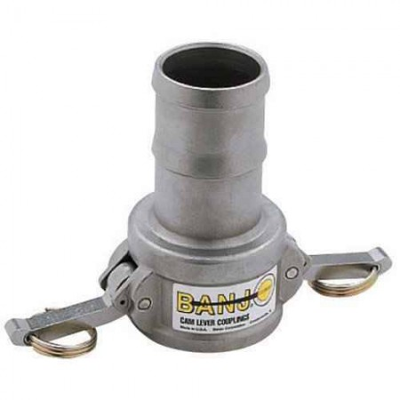 """Cam Action Coupler Fitting - 1"""" Hose Barb x 1"""" Female Couplers"""