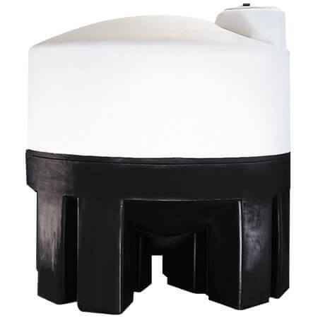 3000 Gallon Cone Bottom Tank w/ Stand