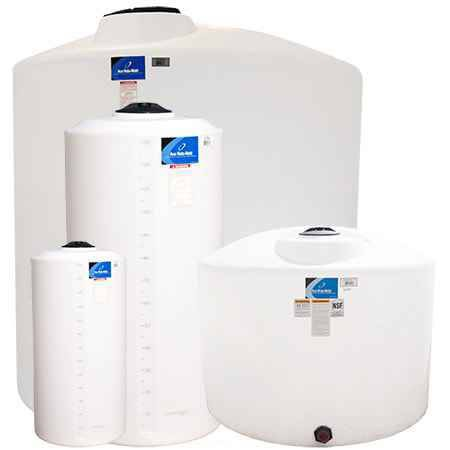 600 Gallon Plastic Vertical Storage Tank