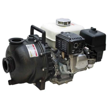 "5 HP Honda Gas Engine Poly Pump with 2"" NPT"