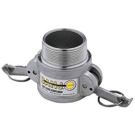 """Cam Action Coupler Fitting - 3"""" MPT x 3"""" Female Couplers"""