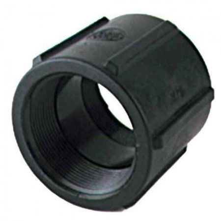 "Pipe Coupler Fitting - 1 1/2"" FPT x 1 1/2"" FPT"