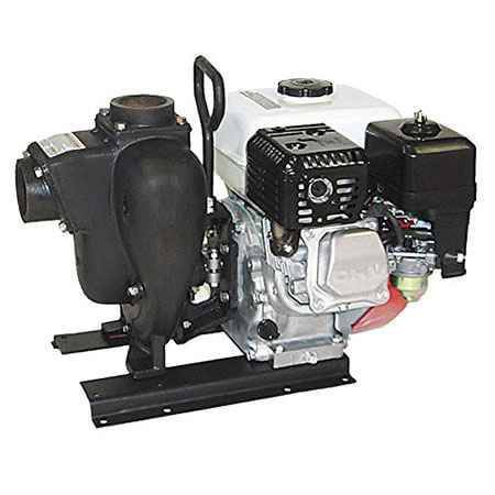 "8 HP Honda Gas Engine Cast Iron Pump with 3"" NPT"