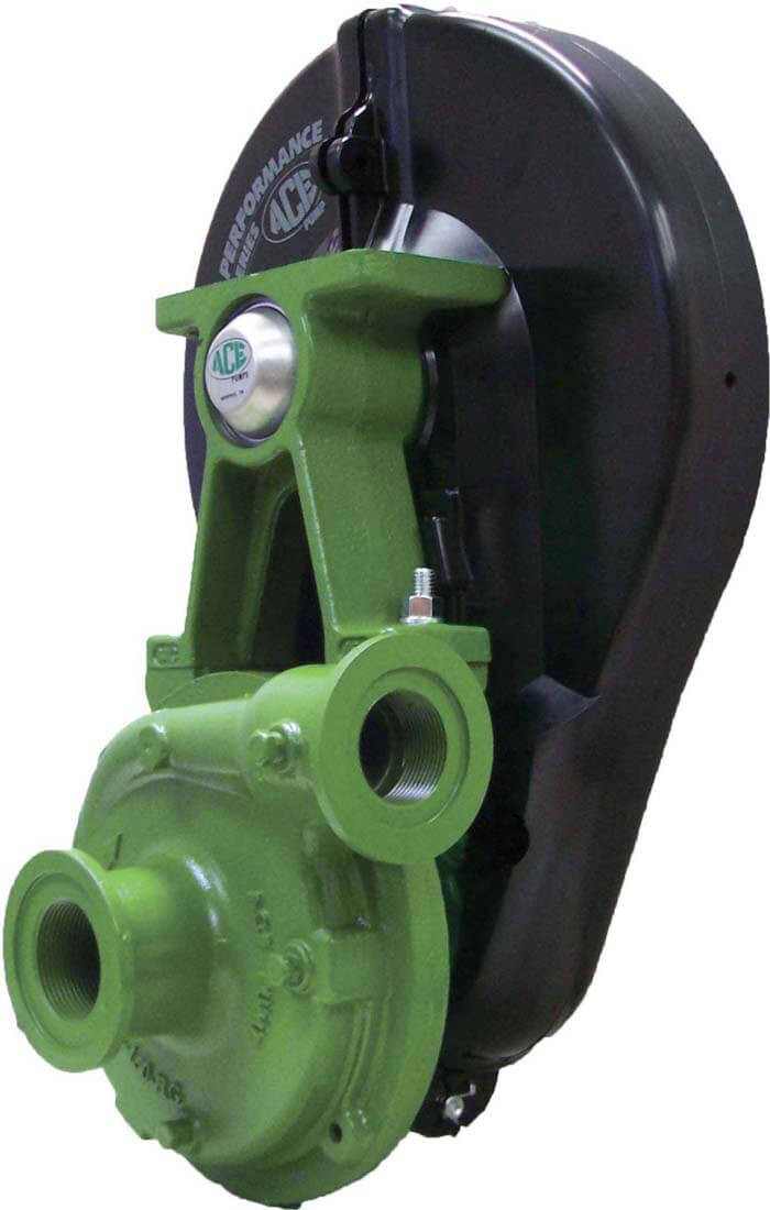 Shurflo Water Pump >> PTOC-150F-600-B Ace Pumps | PTO Belt Driven Cast Iron Pump